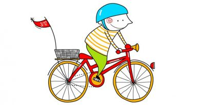 Enseñémosles a decir, en bici ¡No sin mi casco!